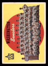 1959 Topps #397 Senators Checklist 430-495 Marked  ID: 308740