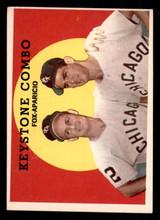 1959 Topps #408 Nellie Fox/Luis Aparicio Keystone Combo Excellent+  ID: 308741