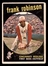 1959 Topps #435 Frank Robinson Very Good  ID: 308743