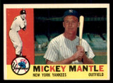 1960 Topps #350 Mickey Mantle Ex-Mint