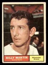 1961 Topps #89 Billy Martin G-VG  ID: 308795