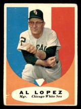 1961 Topps #132 Al Lopez MG Very Good