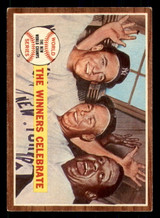 1962 Topps #237 World Series Summary The Winners Celebrate Excellent+  ID: 308856