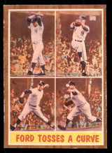 1962 Topps #315 Ford Tosses a Curve IA Excellent+  ID: 308862