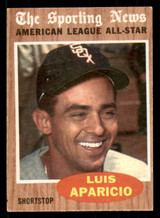 1962 Topps #469 Luis Aparicio AS Very Good  ID: 308872