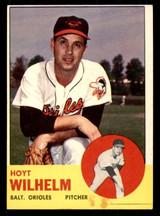 1963 Topps #108 Hoyt Wilhelm Very Good