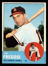 1963 Topps #167 Jim Fregosi Excellent+