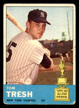 1963 Topps #470 Tom Tresh Good SP  ID: 308907