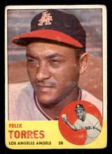 1963 Topps #482 Felix Torres Poor