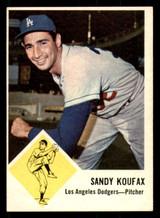 1963 Fleer #42 Sandy Koufax Excellent+
