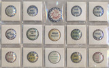 1910-1950's NOVELTIES PINS LOT (15)  #*