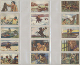 1940s Life Of Buffalo Bill Martougin France Buffalo Bill (Lot of 21/25) Ex-Mt  #*