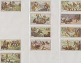 1930s Senez-Sturbelle Belgium Life Of Buffalo Bill (Lot of 11 ) Vg-Vg++   #*