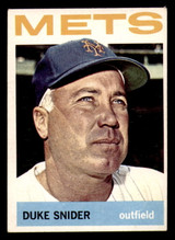 1964 Topps #155 Duke Snider Very Good  ID: 308940