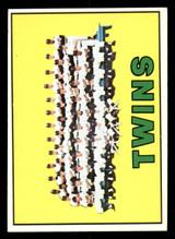 1967 Topps #211 Twins Team Ex-Mint  ID: 309027