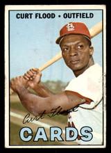 1967 Topps #245 Curt Flood Poor  ID: 309029