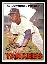1967 Topps #308 Al Downing Excellent+  ID: 309033