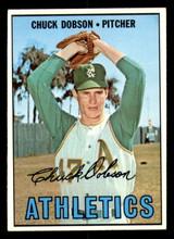 1967 Topps #438 Chuck Dobson Ex-Mint  ID: 309038