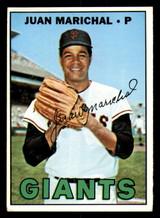 1967 Topps #500 Juan Marichal Very Good  ID: 309039