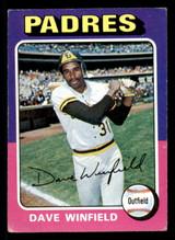 1975 Topps #61 Dave Winfield Very Good  ID: 309193