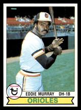 1979 Topps #640 Eddie Murray Near Mint+  ID: 309259