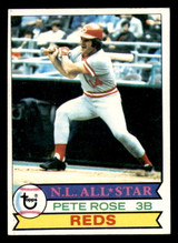 1979 Topps #650 Pete Rose Excellent  ID: 309261