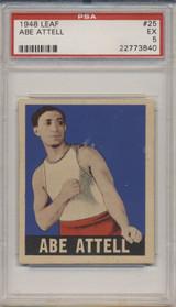 1948 LEAF #25  Abe Attell PSA 5 EX  #*