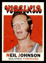 1971-72 Topps #216 Neil Johnson Very Good