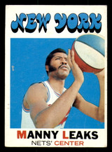 1971-72 Topps #217 Manny Leaks Excellent  ID: 309619