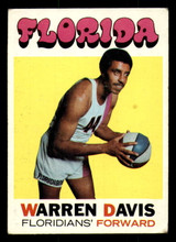 1971-72 Topps #219 Warren Davis Very Good
