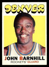 1971-72 Topps #222 John Barnhill Ex-Mint  ID: 309632