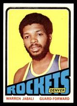 1972-73 Topps #205 Warren Jabali Near Mint  ID: 309742