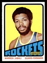 1972-73 Topps #205 Warren Jabali Near Mint  ID: 309743
