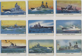 1940s R112-6 CARD-O Series A U S Navy (w/ Packed With Card o Chewing Gum) Set 22 TOUGH!!   #*