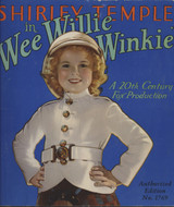 1937 Shirley Temple In Wee Willie Winkie 32 Pages 10X9 1/4 Inches   #*