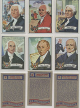 1972 Topps U.S. President Set 43 With 16 Posters Set  #*