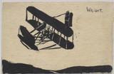 1909 Wright Biplane Hand Made International Frankfort Luftschiffanrt Ausstellung Expo (Possibly)  #*