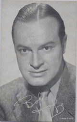 """1950's Bob Hope Exhibit Card """"Made in USA""""  #*"""