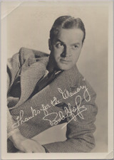 1940's Bob Hope Picture 5 by 7 inches  #*