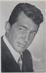 1950's Dean Martin Exhibit Card Printed in USA  #*