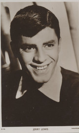 1950's Jerry Lewis Photo Post Card No. W 991 London, England  #*