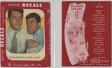 1950's Dean Martin & Jerry Lewis Star Cal Original Package 3 3/4 by 5 inches  #*