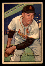 1952 Bowman #14 Cliff Chambers Excellent+