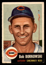 1953 Topps #7 Bob Borkowski DP Very Good