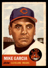 1953 Topps #75 Mike Garcia Very Good  ID: 312079