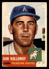 1953 Topps #97 Don Kolloway DP Good