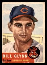 1953 Topps #171 Bill Glynn Poor RC Rookie