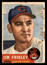 1953 Topps #187 Jim Fridley Poor  ID: 312085