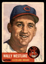1953 Topps #192 Wally Westlake Good