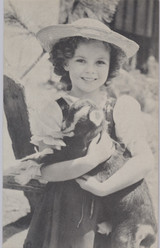 1930's Shirley Temple Exhibit Card  #*